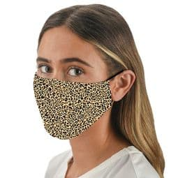 Leopard  Print Mask -   Face Mask /Face Covering.