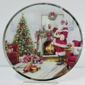 Macneil Magical Santa  - Round Coasters - 10cm - pack of 2