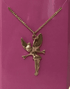 Magical Good Luck  - Wishing  Fairy Necklace -