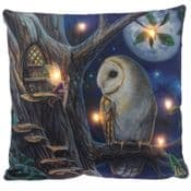 Magical light-up LED Fairy Cushion - 38cm Cushion &  Soft cover