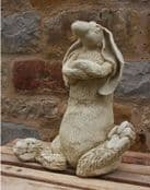 Marble - Harley The Sitting Hare -30cm