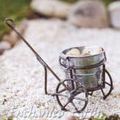 Mini Antique Troll Cart