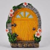 Mini Yellow Cottage Fairy Door