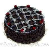 Miniature Chocolate & Cherry Cake