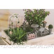 Miniature Classical Retreat Garden Gift Set - 8 Items