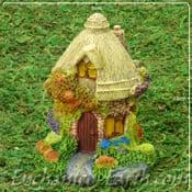 Miniature Country Cottage Fairy House - 10cm tall