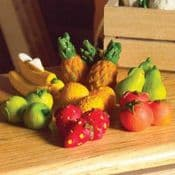 Miniature Fairy Garden Fruit pack - pack of 6
