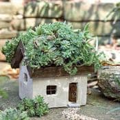 Miniature Garden Highland croft - Living Roof House