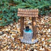 Miniature Garden Wishing Well - 10cm