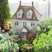 Miniature Metal French Chateau - Garden House
