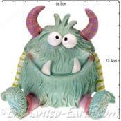 Monster  Money Bank - Milo The Monster - 13cm Piggy Bank
