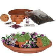 New Magical Fairy Garden 10-Piece Grow Set  - Garden Gift Set