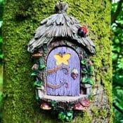Opening Fairy Door - Fairy Landing Pad - 21cm