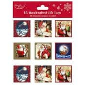 Pack of 18 Festive Gift Tags