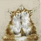 Pack of 20 Quality Paper Napkins -Wrendale Designs  Fox - Contentment