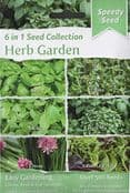 Pack of 500 seeds - Seed Collection 6 in 1 - Herb Garden - 6 types