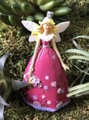 Penelope The Fairy Princess with a basket of flowers - 13cm