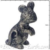 Pewter Effect Country Mouse (sitting)