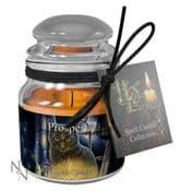 Prosperity Spell Candle - Jasmine  - 9cm