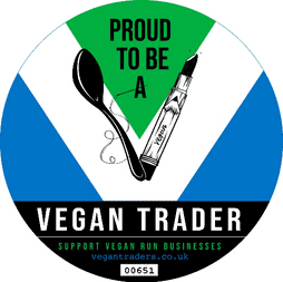 Proud to be a member of The Vegan Traders Union