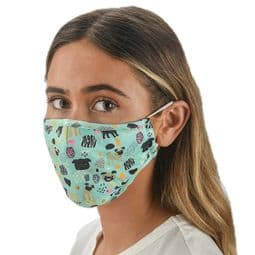 Pugs - Dog design-  Face Mask /Face Covering.