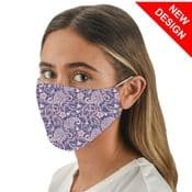 Purple Paisley -  Face Mask /Face Covering