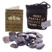 Real Gemstone Runes - - Natural New Jade