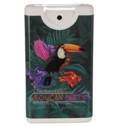 Spray Hand Sanitiser - Tropical Toucan -  Kills 99% of harmful bacteria!.
