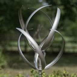 The Silver Hampton Court  Wind Spinner - 190cm.