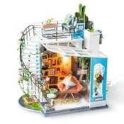 Robotime Miniature Garden DIY Kits - Dora's Loft  - 3D Kit