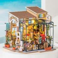 Robotime Miniature Garden DIY Kits -  Emily's Flower Shop Kit