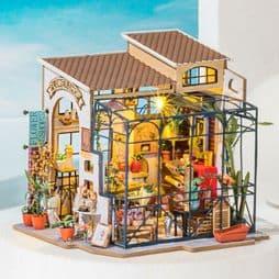Robotime  Miniature Garden DIY Kits -  Emily's Flower Shop Kit.
