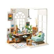 Robotime Miniature Garden DIY Kits - SOHO time  - Miniature Home Office Studio Kit