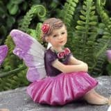 Rose- Fiddlehead Tiny Micro Fairy
