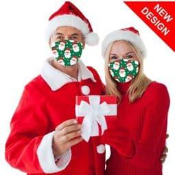 Santa  - Reusable - Face Mask /Face Covering.