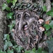 Sole The Green Man/Tree Man - Tree Plaque
