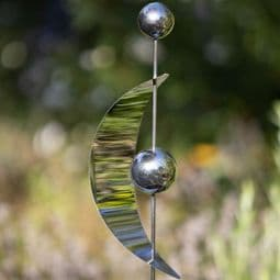 Stainless Steel Garden Stake - The Sail  -117cm.