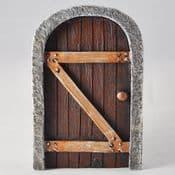 Stone Surround Oak Secret Kingdom Fairy Door - 13cm