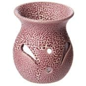 Textured Ceramic Oil Burner (Two pink colours to choose from)
