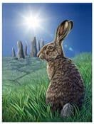 The Brown Hare -  3D Lenticular Picture - Solstice