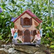 The Fairy Cottage - Solar - LED Colour changing Fairy House