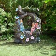 The Fairy Rainfall Fountain - Solar Water Feature - 42cm