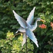 The Flying Crane - Garden Wind Spinner