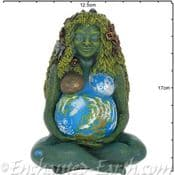 The Millennial Gaia - The Visionary Mother Earth Goddess  Sculpture -