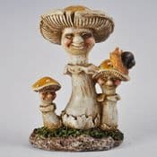 The Mushroom Family - Auntie & Niece & Nephew Mushroom