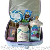 Vegan Christmas Mermaid Hamper - in a 25cm Mermaid Lunch Bag