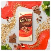 Vegan  Galaxy Chocolate  - Caramelised Hazelnut - 100g