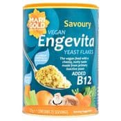 Vegan Marigold Engevita - Yeast Flakes with B12  -125g Tub