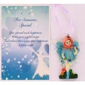 Vintage Style Hanging Fairy & Gift Card - For Someone Special