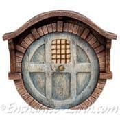 Vivid Arts - Brick Burrow Fairy Door (Blue)